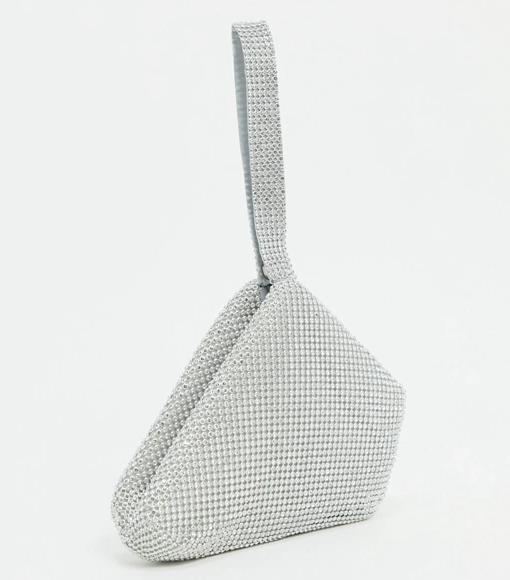"Grab Bag with Rhinestones by Glamorous, $38 at [ASOS](https://www.asos.com/au/glamorous/glamorous-exclusive-grab-bag-with-rhinestones-in-cream/prd/20229012?channelref=product+search&affid=24792&mk=abc&ppcadref=9995283117%7C99537615823%7Caud-408463496582:pla-328920477747&gclid=Cj0KCQiA7qP9BRCLARIsABDaZzhJT-loTGwHGLQNwBzFB7B5Pd5x7TAKarrDU-vpLKtbvWBNCQUA8jUaAoaqEALw_wcB&gclsrc=aw.ds|target=""_blank""|rel=""nofollow"")."