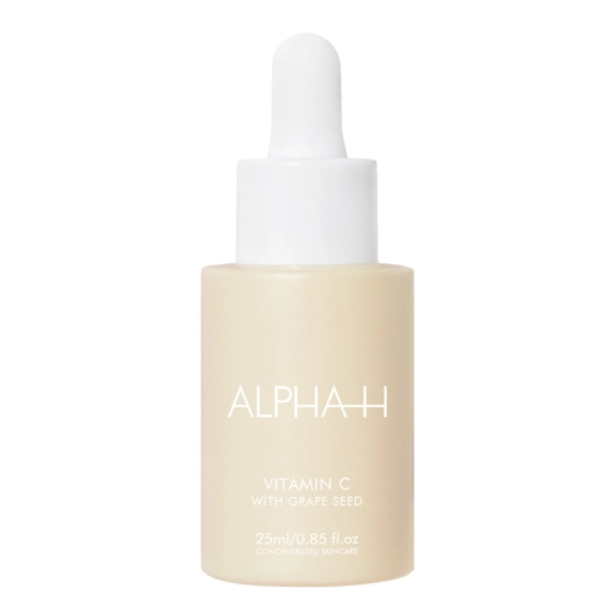 """Vitamin C Serum with Grape Seed by Alpha-H, $59.46 at [Adore Beauty](https://fave.co/2IkKzmg