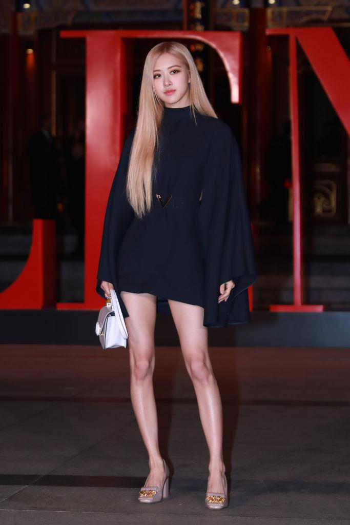 """**Rosé**<br><br>  Hailing from Melbourne, Australia, 23-year-old Rosé (real name: Roseanne Park) is celebrated for her style just as much as her gorgeous voice (the girl can *sing*). The global ambassador for Saint Laurent, Rosé is often spotted sporting the French brand alongside a myriad of other coveted labels. Artfully wearing a range of outfits, from Baby Spice-esque mini-dresses and pigtails to almost [gothic Lolita looks](https://www.instagram.com/p/CC0nKvyBucZ/