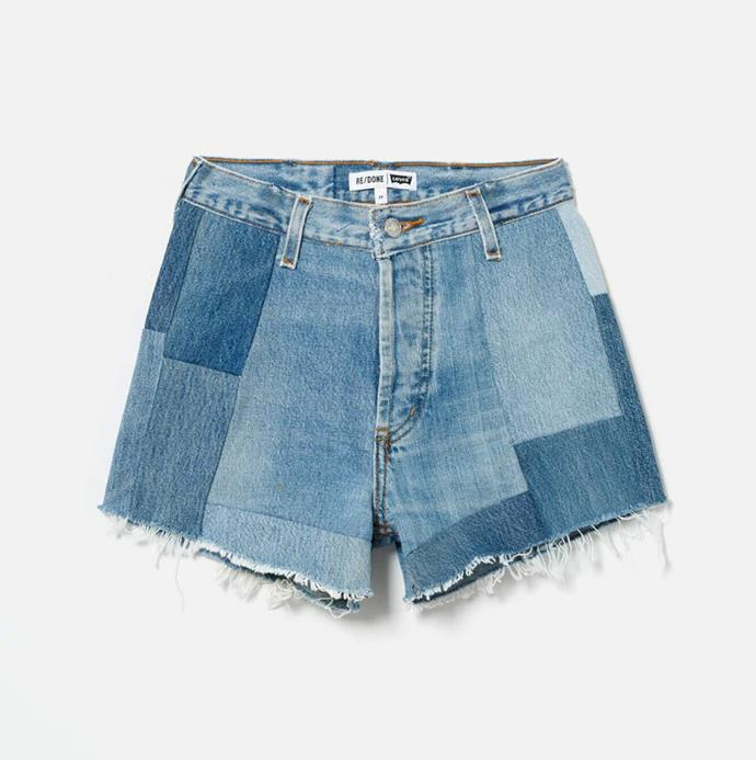 """'70s Patch Short', $455 at [RE/DONE](https://shopredone.com/collections/levis-70s-patch-short/products/no-23psh1733184?variant=32367489843235