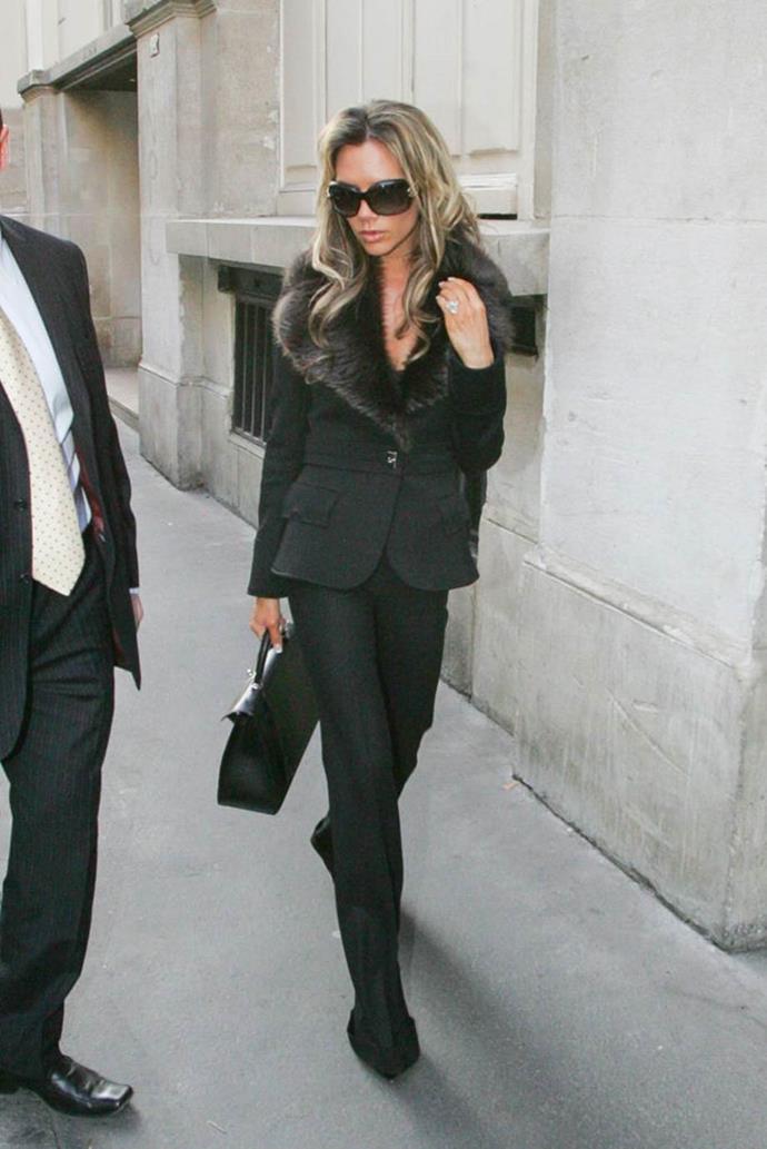 Victoria Beckham in 2006.