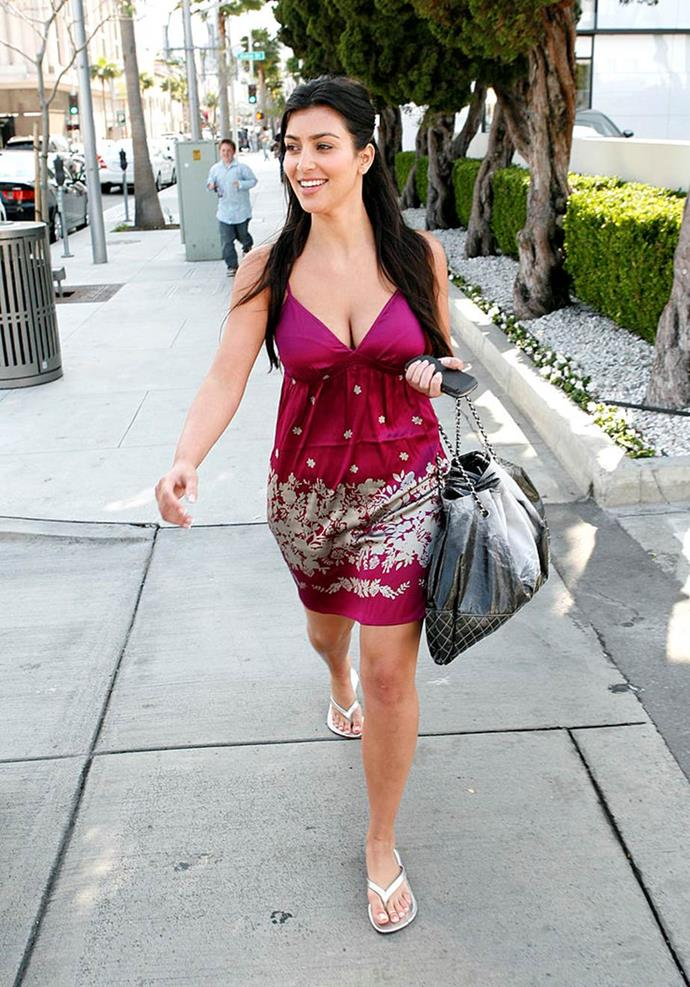 Kim Kardashian West in 2008.