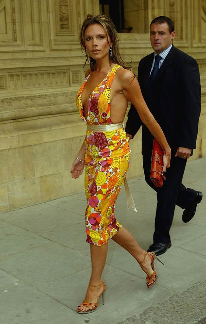 Victoria Beckham in 2004.