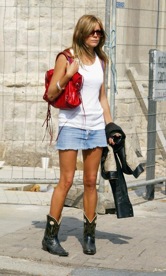 Sienna Miller in 2004.