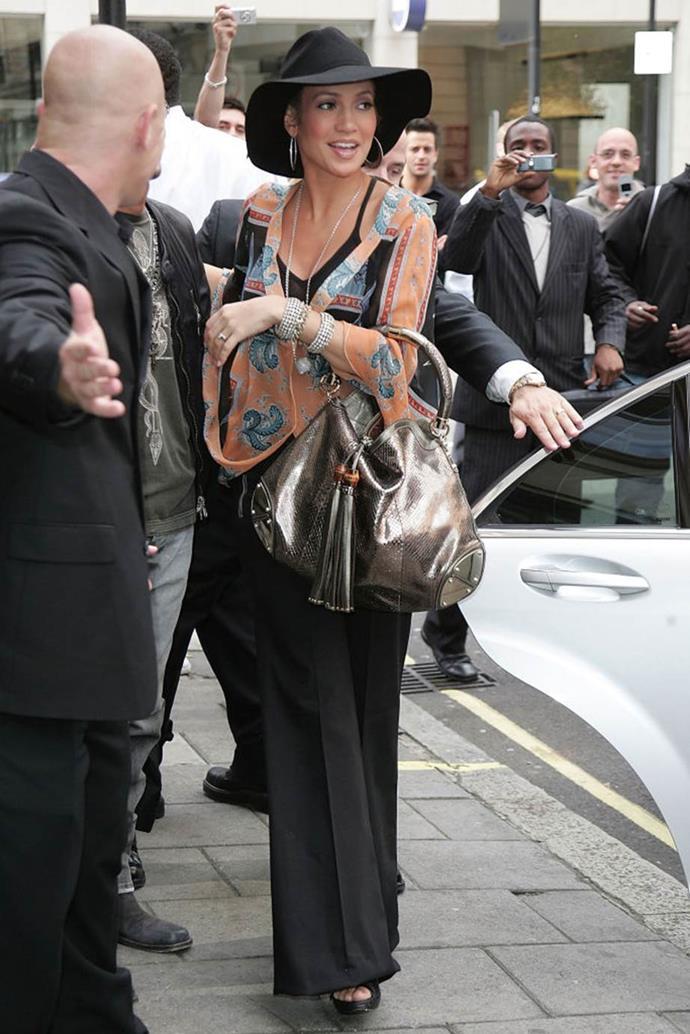 Jennifer Lopez in 2007.