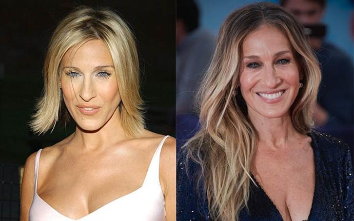 "**Sarah Jessica Parker** <br><br> Speaking to *[Yahoo!](https://www.yahoo.com/lifestyle/whats-the-one-hairstyle-sarah-jessica-parker-120723255768.html|target=""_blank""