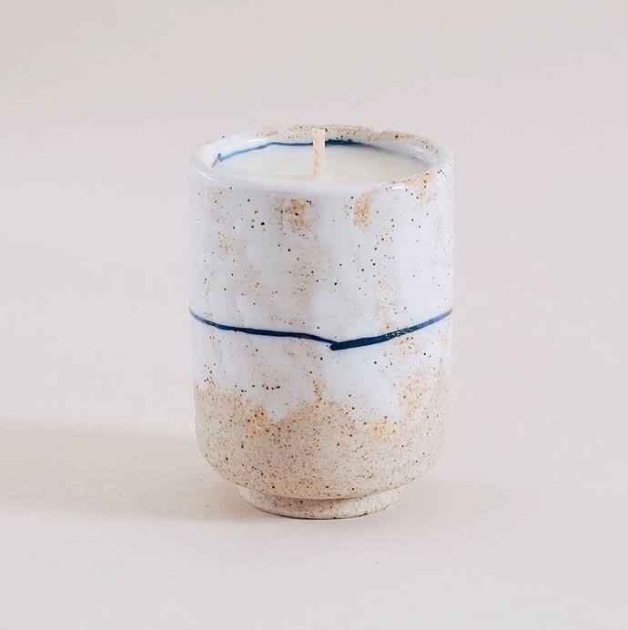 """'Japanese Gifu Candle', $49 at [Provider Store](https://www.providerstore.com.au/collections/candles/products/japanese-gifu-candle