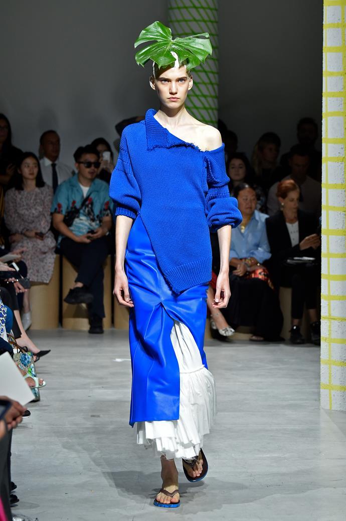 Marni at Milan Fashion Week Spring Summer 2020.