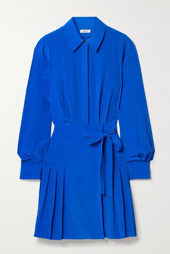 "'Pleated silk crepe de chine mini shirt dress' by Jason Wu, $802.77 at [Net-A-Porter](https://www.net-a-porter.com/en-au/shop/product/jason-wu/pleated-silk-crepe-de-chine-mini-shirt-dress/1278144|target=""_blank""|rel=""nofollow"")."