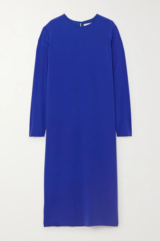 "'Nova silk-crepe midi dress' by Tove, $750.60 at [Net-A-Porter](https://www.net-a-porter.com/en-au/shop/product/tove/nova-silk-crepe-midi-dress/1233160|target=""_blank""|rel=""nofollow"")."