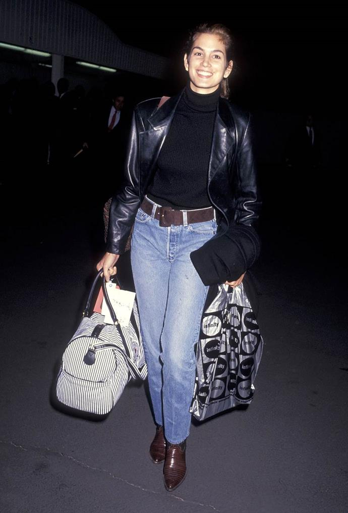 Cindy Crawford in 1991.