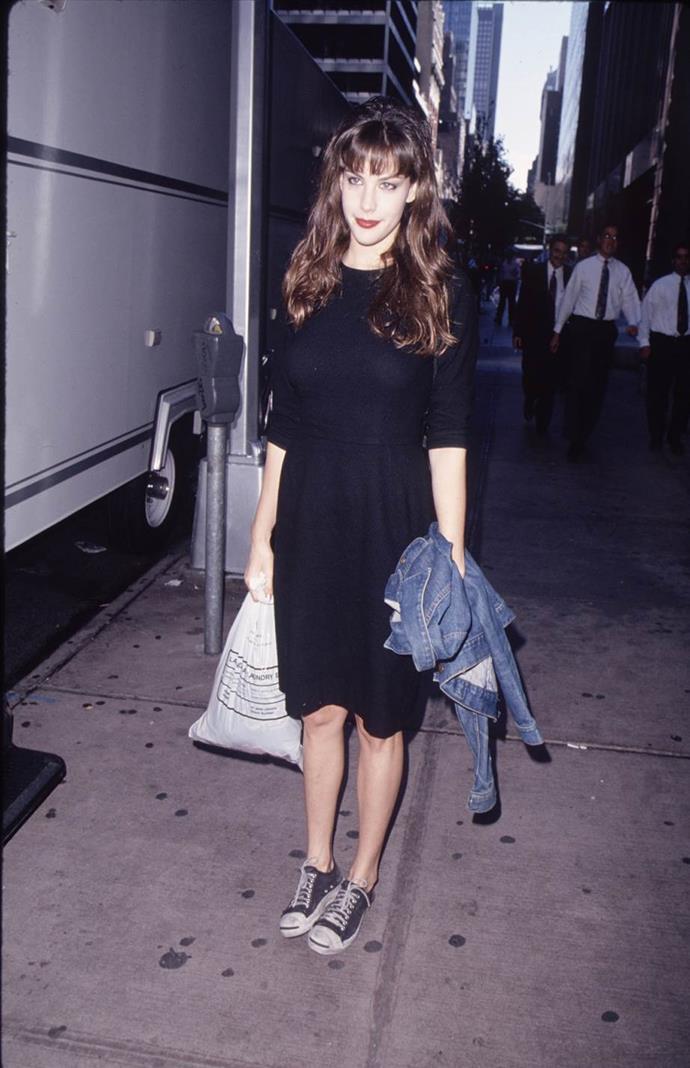 Liv Tyler in 1995.