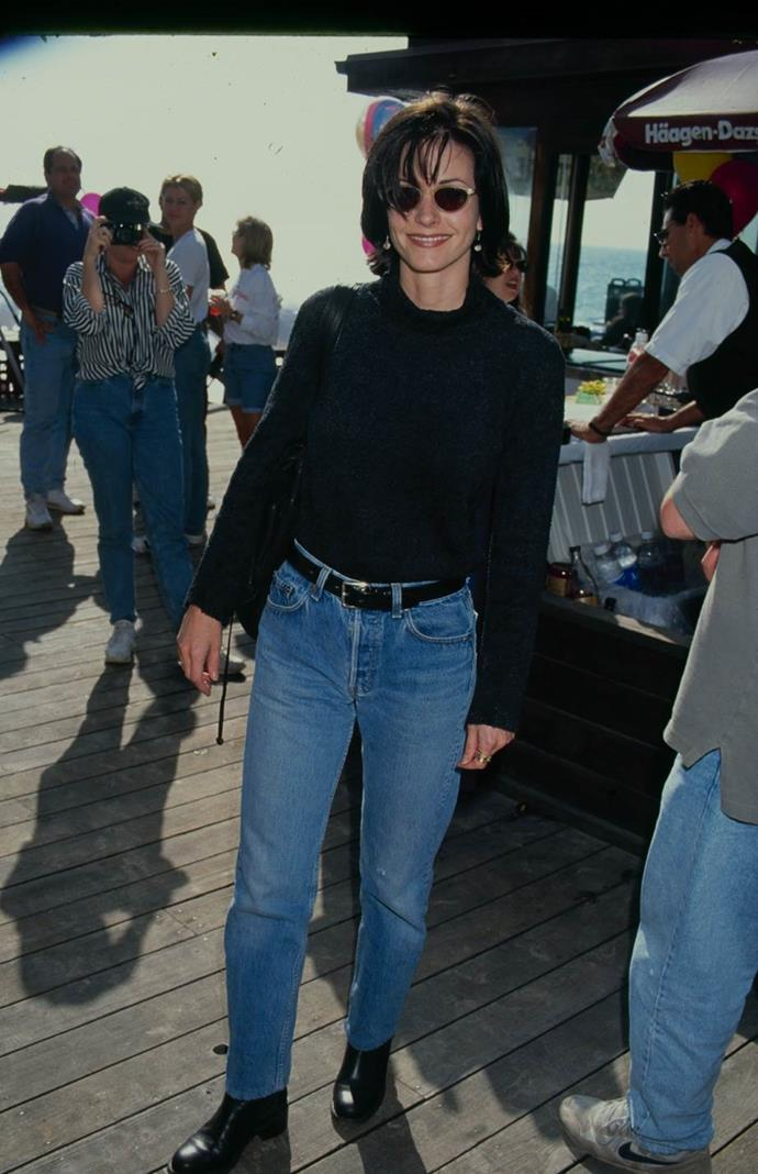 Courteney Cox in 1995.