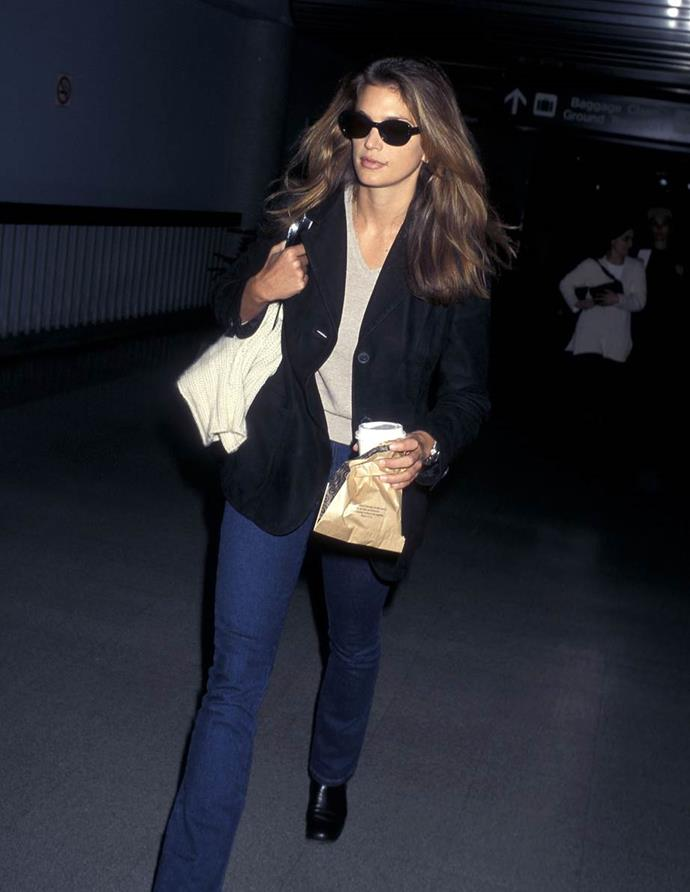 Cindy Crawford in 1997.