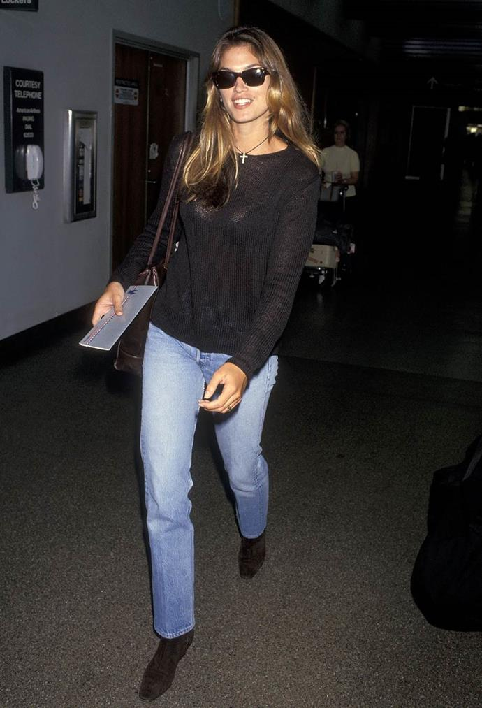Cindy Crawford in 1993.