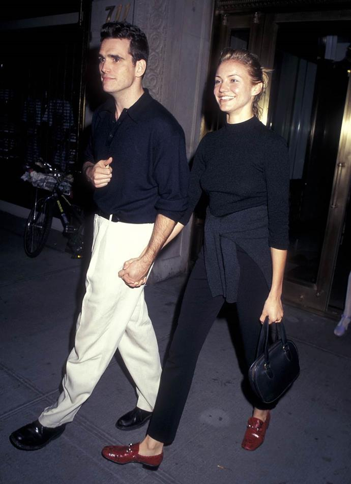 Matt Dillon and Cameron Diaz in 1990.