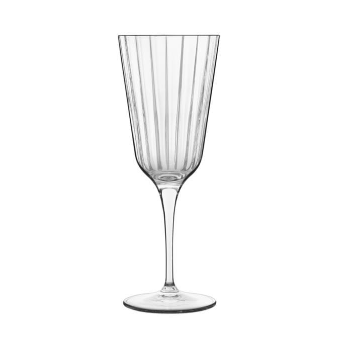 "'Bach Vintage Cocktail' Glass Set Of Four by Luigi Bormioli, $79.95 at [David Jones](https://www.davidjones.com/brand/luigi-bormioli/23535317/Bach-Vintage-Cocktail-250ml-Set-of-Four.html target=""_blank"" rel=""nofollow"")."