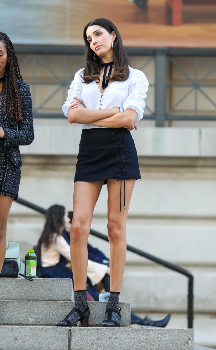 """**The Constance and St Jude's School Uniforms**<br><br>  Nothing is known about [transgender model](https://www.elle.com.au/fashion/transgender-models-24208
