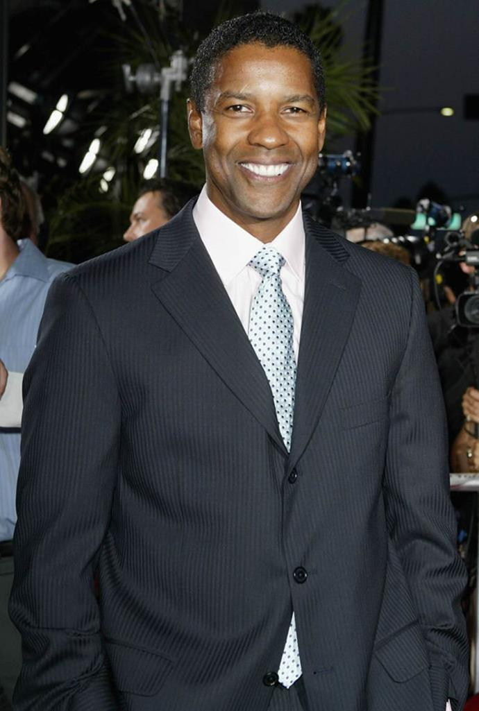 **Denzel Washington** <br><br> Washington could have had an entirely different career based on his journalism degree, however, he also has a degree in drama and we're glad he put it to use.