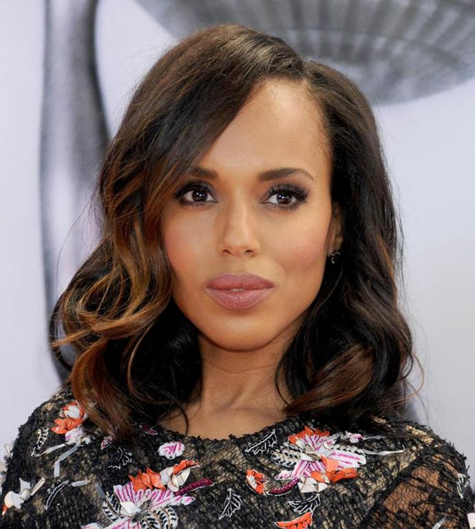 **Kerry Washington** <br><br> The *Scandal* star managed to design her own major that focused on anthropology, sociology and psychology while attending George Washington University. I mean, if that's not the most Olivia Pope thing to do...