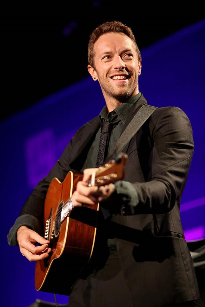 **Chris Martin** <br><br> The Coldplay frontman received a degree in Greek and Latin from the University College London. It was there that he met his future bandmates and the rest is history.