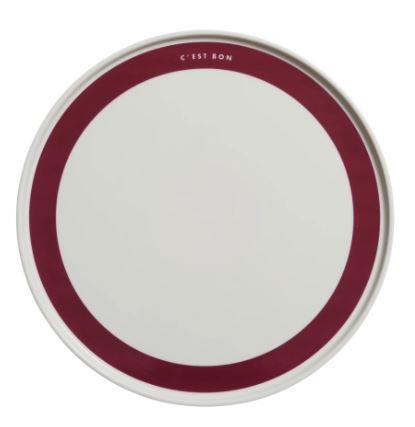 "C'est Bon Plate, $29 by [In The Roundhouse](https://www.intheround.house/products/cest-bon|target=""_blank""