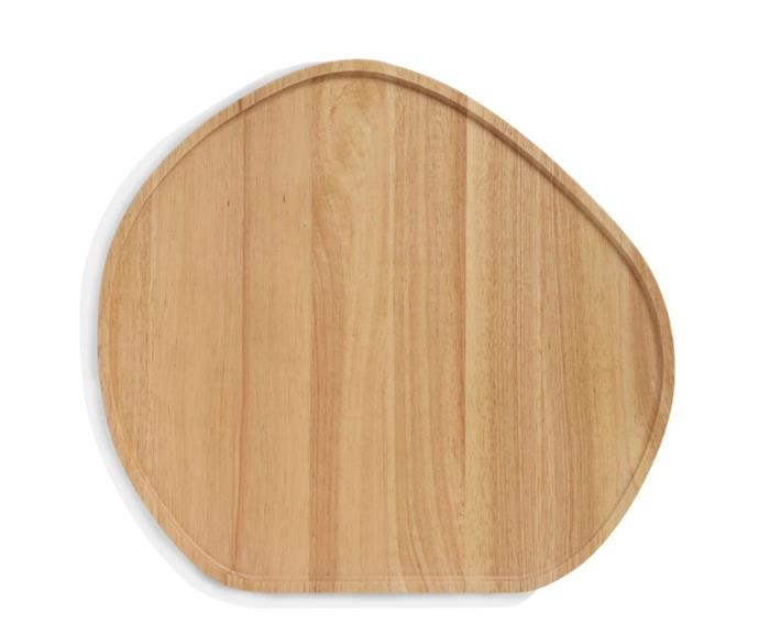 "Large Wooden Serving Platter, $83.97 (limited time pricing) by [Stanley Rogers](https://www.stanleyrogers.com.au/collections/serving/products/wooden-serving-platter-round-large|target=""_blank""