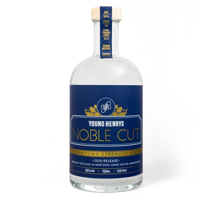 "Noble Cut Gin in Limited Edition Newtown Strength, $100 by [Young Henrys](https://younghenrys.com/shop/newtown-strength-noble-cut-gin|target=""_blank""