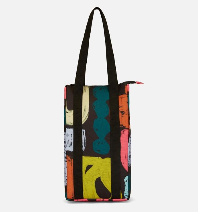 "Chisel Study Wine Cooler Bag, $39.20 (limited time pricing) by [Gorman](https://www.gormanshop.com.au/chisel-study-wine-cooler.html|target=""_blank""
