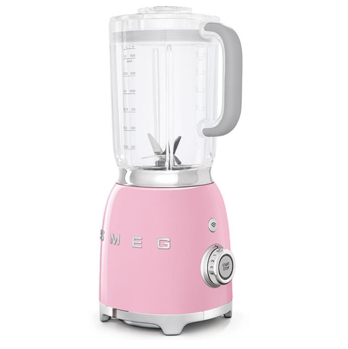 "50s-Style Blender in Pink by Smeg, $299 at [Harvey Norman](https://www.harveynorman.com.au/smeg-50s-style-blender-pink.html|target=""_blank""