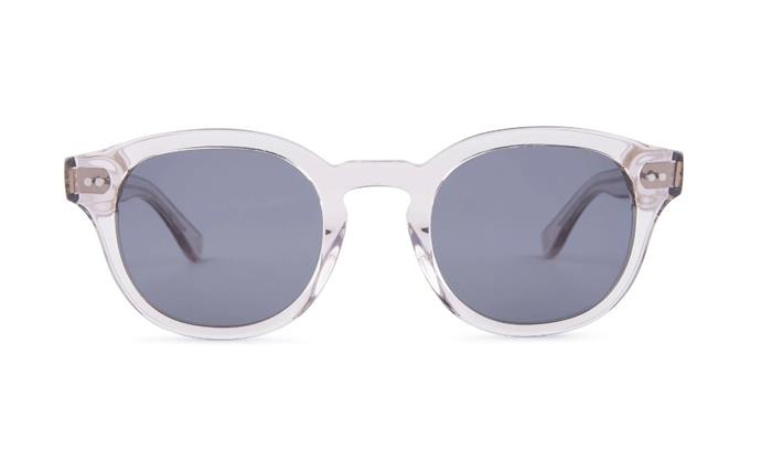 "'Murray' Sunglasses in Sand, $219 by [Mari & Clay](https://mariandclay.com.au/collections/rivers-collection/products/murray?variant=31722214883363|target=""_blank""