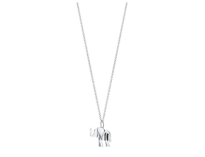 "Save The Wild Elephant Charm, $590 by [Tiffany & Co.](https://www.tiffany.com.au/jewelry/necklaces-pendants/tiffany-save-the-wild-elephant-charm-GRP10529/|target=""_blank""