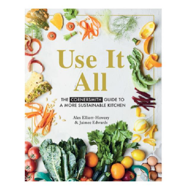 "'Use it All: The Cornersmith Guide To A More Sustainable Kitchen' by Alex Elliott-Howery and Jaimee Edwards, $24 at [Amazon](https://www.amazon.com.au/Use-All-Cornersmith-sustainable-kitchen/dp/1760525685/ref=asc_df_1760525685/?tag=googleshopdsk-22&linkCode=df0&hvadid=434224401557&hvpos=&hvnetw=g&hvrand=8674476287262214837&hvpone=&hvptwo=&hvqmt=&hvdev=c&hvdvcmdl=&hvlocint=&hvlocphy=9071791&hvtargid=pla-929735875378&psc=1|target=""_blank""