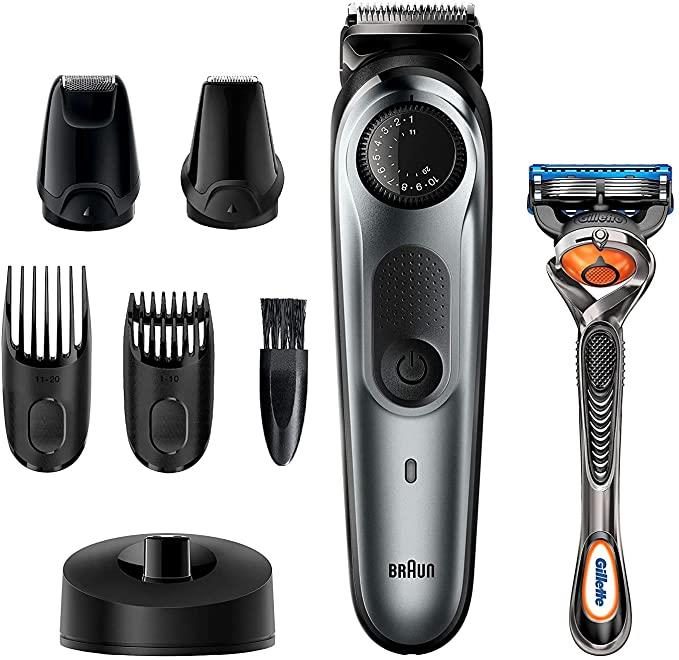 """**Braun Series 7 Beard Trimmer, $179 (currently on sale for $145) from [Shaver Shop](https://go.skimresources.com?id=105419X1569491&xs=1&url=https%3A%2F%2Fwww.shavershop.com.au%2Fbraun%2Fseries-7-beard-trimmer-with-gillette-proglide-razor-010707.html%3Fgclid%3DCj0KCQiAzZL-BRDnARIsAPCJs72oDcst_CXp_bXFcXpHK-vs58CTOYKYBI6UE4sF1OicXjbkuCAp5UMaAr23EALw_wcB