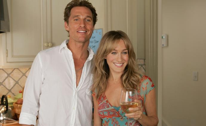 ***Failure to Launch*** **(01/12/2020)**<br><br>  Tripp (Matthew McConaughey) a 35-year-old professional layabout, is happy to stay at home where he's waited on hand and foot by his mum Sue. However, when she and her husband Al have had enough and decide that to get him to leave, they have to use subtle methods. So, they hire Paula (Sarah Jessica Parker) who will use her feminine wiles to lever him out of the family home.