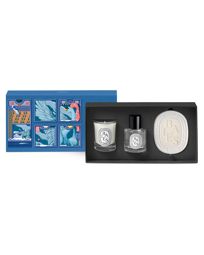 "**For The Beauty Junkie Bestie** <br><br> *'Best of Baies Set' by Diptyque, $204 at [MECCA](https://www.mecca.com.au/diptyque/best-of-baies-set/I-045814.html?cgpath=gifts-giftguide-shopbycategory-thefantasyoffragrance|target=""_blank""