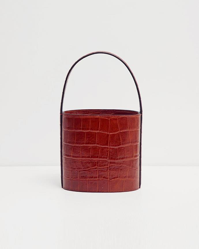 "**The High Fashion Ride-Or-Die** <br><br> *'Bisset Bag' by STAUD, $435 at [Incu](https://www.incu.com/products/bisset-bag|target=""_blank""
