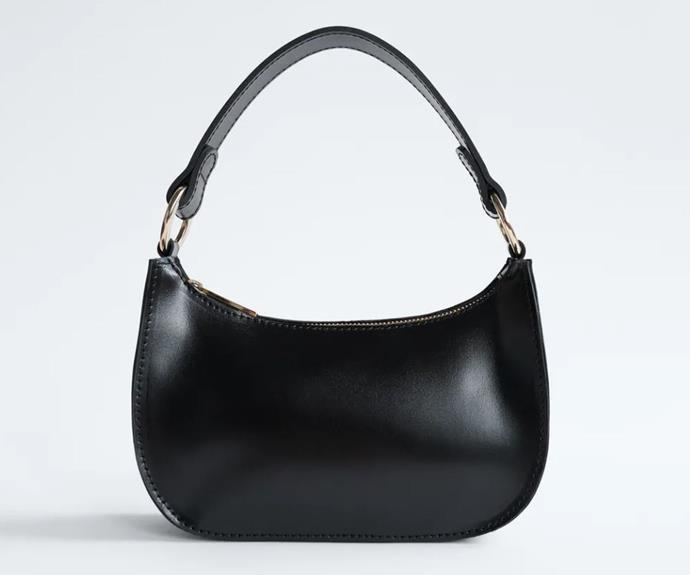 "Mini Leather Bag, $89.95 by [Zara](https://www.zara.com/au/en/mini-leather-bag-trf-p02749203.html?v1=62797248&v2=1650743|target=""_blank""|rel=""nofollow"")."