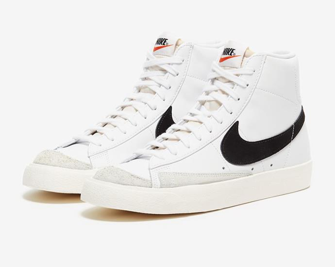 """Blazer Mid '77 Sneakers by Nike, $140 at [The Iconic](https://www.theiconic.com.au/blazer-mid-77-women-s-1088167.html