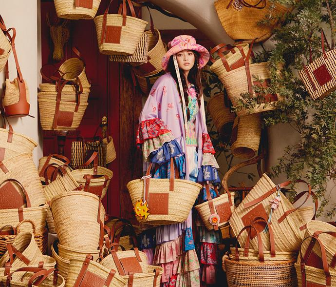 "**Loewe** <br><br> The creator of the iconic basket bag, Loewe's designs make for an investment you'll never regret. <br><br> *[Shop them here.](https://www.net-a-porter.com/en-au/shop/designer/loewe/bags|target=""_blank""