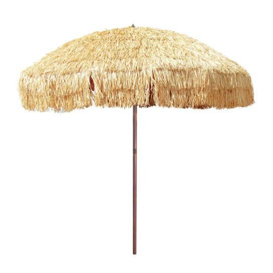 """**The Tropical Beach Umbrella**<br><br>  Give your beach day a tropical touch with this raffia 'Hula' umbrella. Just like the kind you'd find in the Maldives or Bali, it offers plenty of shade with a diameter of 2.1m, UPF 50+ protection and wind vents to keep it sturdy on breezy days.<br><br>  *Hula Beach Umbrella by Beachkit, now $168 at [Beach Umbrellas](https://fave.co/2VOYILN