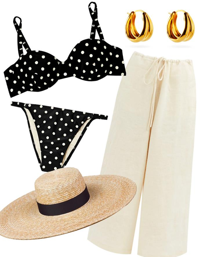 """Our recommendations: Bikini [top](https://www.farfetch.com/au/shopping/women/peony-holiday-balconette-polka-dot-bikini-top-item-15564084.aspx?storeid=9359