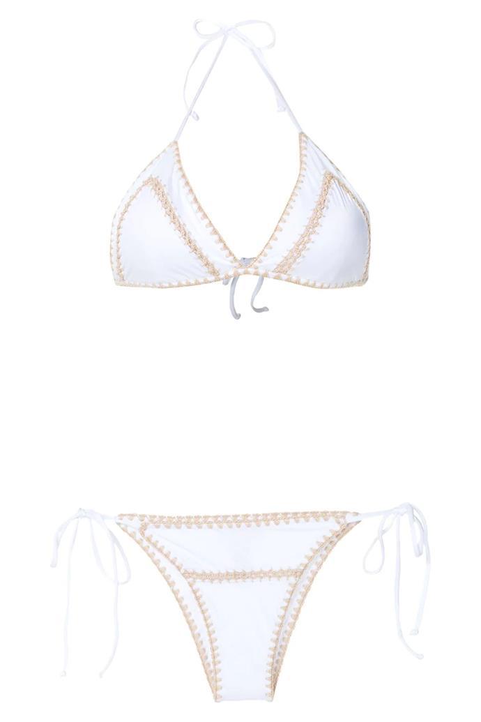 "Bikini by Brigitte, $227 at [Farfetch](https://www.farfetch.com/au/shopping/women/brigitte-tati-e-julia-crochet-bikini-set-item-15696713.aspx?storeid=9682|target=""_blank""|rel=""nofollow"")"