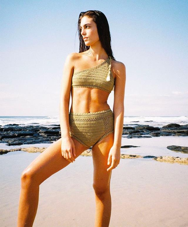 """**Crochet** <br><br> We're head-over-heels for crochet swimwear—just like [Yan Yan Chan](https://www.instagram.com/p/BmfqYZUDFSe/