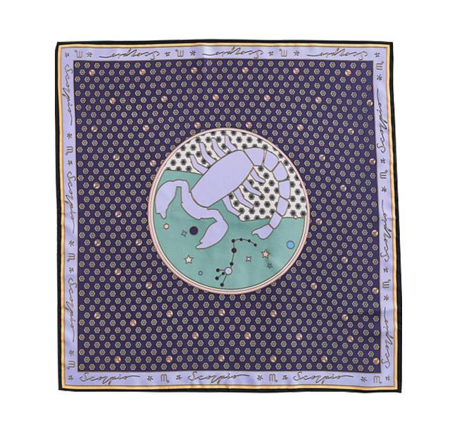 "Scorpio Silk Scarf, $45.95 by [Zara](https://www.zara.com/au/en/scorpio-silk-scarf-p08377210.html?v1=78536908&v2=1277390|target=""_blank""|rel=""nofollow"")."