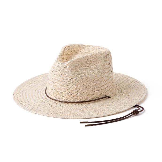 "Rider Bone Hat, $129 at [Will & Bear](https://willandbear.com/collections/women/products/rider-bone|target=""_blank""