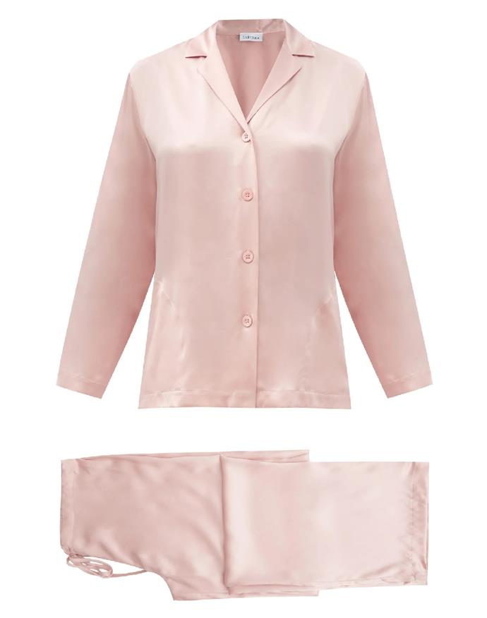 """This luxe silk set is the ultimate investment in sartorial self-care. <br><br> *Silk-satin pyjamas by La Perla, $427 at [MATCHESFASHION.COM](https://www.matchesfashion.com/au/products/La-Perla-Silk-satin-pyjamas-1398250