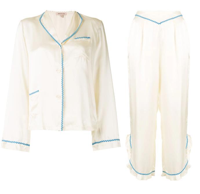 "Morgan Lane's hyper-feminine designs and ladylike details will bring joy to workdays. <br><br> *[Pyjama top](https://www.farfetch.com/au/shopping/women/morgan-lane-mimi-pyjama-shirt-item-15465254.aspx?storeid=10745|target=""_blank""|rel=""nofollow""), $368 and [trousers](https://www.farfetch.com/au/shopping/women/morgan-lane-margo-cropped-trousers-item-15465255.aspx?storeid=10745|target=""_blank""|rel=""nofollow""), $368 by Morgan Lane at Farfetch*"