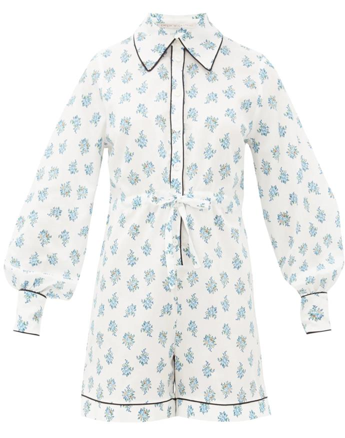 """Emilia Wickstead brings her modern, ladylike aesthetic to the bedroom with her floral-printed pj sets. <br><br> *Pyjama set by Emilia Wickstead, $298 at [MATCHESFASHION.COM](https://www.matchesfashion.com/au/products/Emilia-Wickstead-Bryn-floral-print-cotton-poplin-pyjama-playsuit-1310633