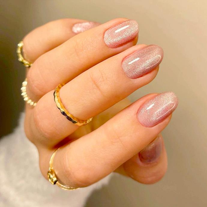 """**The Velvet Manicure** <br><br> While [velvet nails](https://www.elle.com.au/beauty/velvet-nails-24387